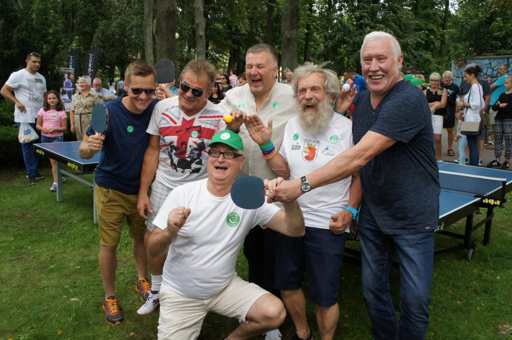 Turniej ping Ponga Światowy Festiwal Optymizmu